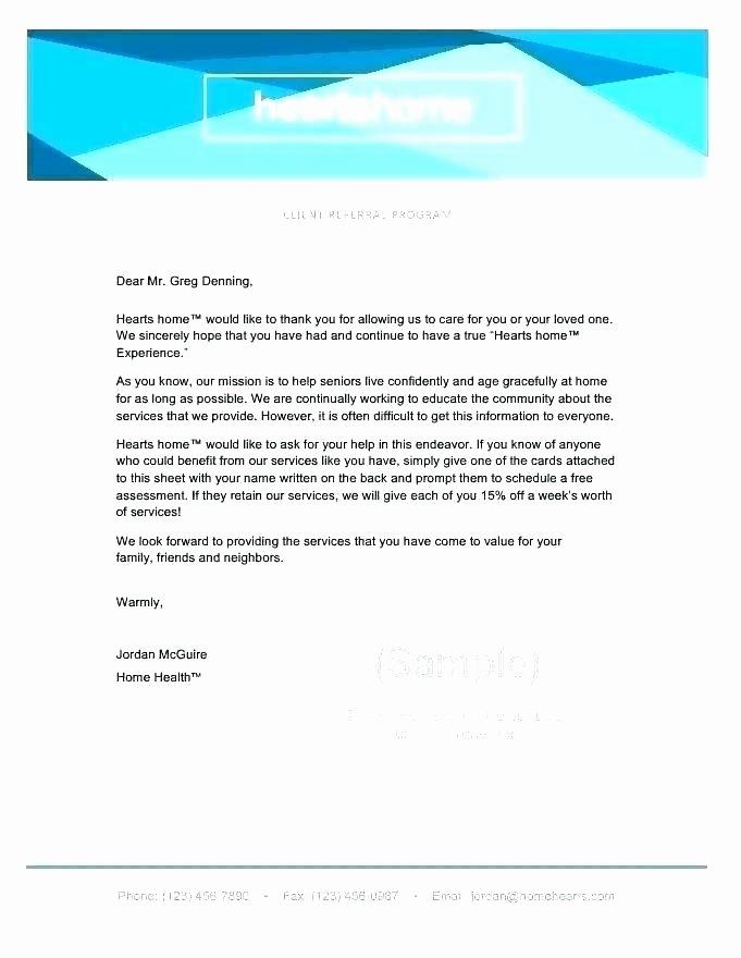 Customer Service Recommendation Letter Elegant Customer Reference Letter Template