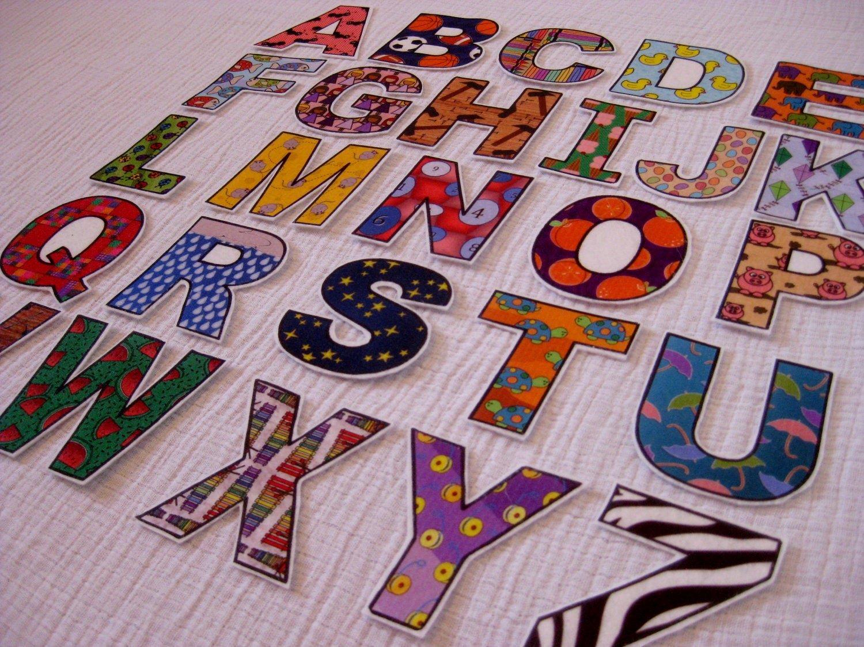 Cut Out Alphabet Letters Awesome Pdf Abc Alphabet & Number Fridge Magnets Cut Outs Felt