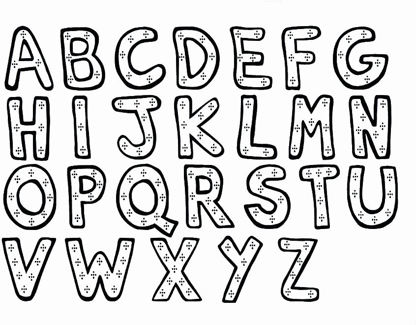 Cut Out Alphabet Letters Fresh Letters Cut Outs Letter Free Printable Cut Out S for