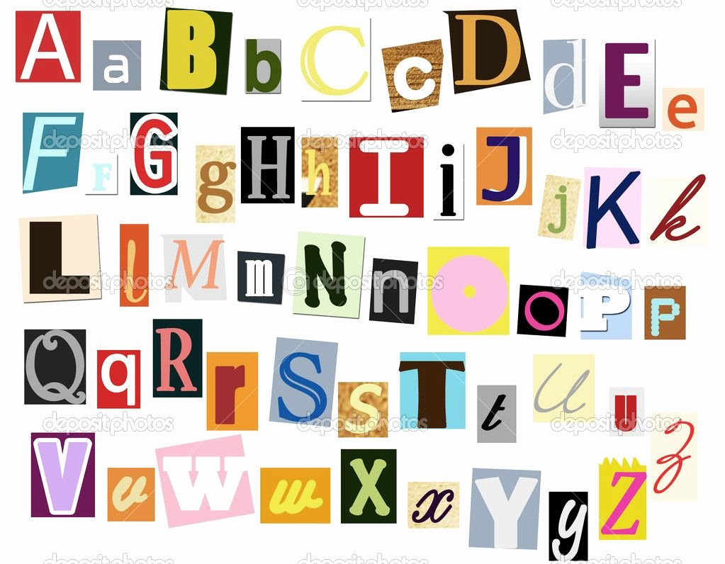 Cut Out Alphabet Letters Lovely Colorful Cut Out Alphabet Letters