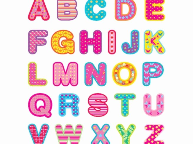 Cut Out Alphabet Letters Unique Letter Cutouts Printable Clipart Best