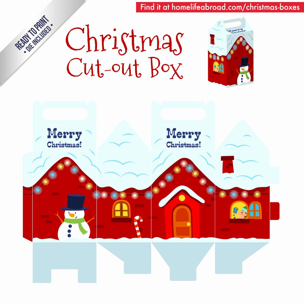 Cut Out Box Template Best Of Mega Collection Of 38 Cut Out Christmas Box Templates