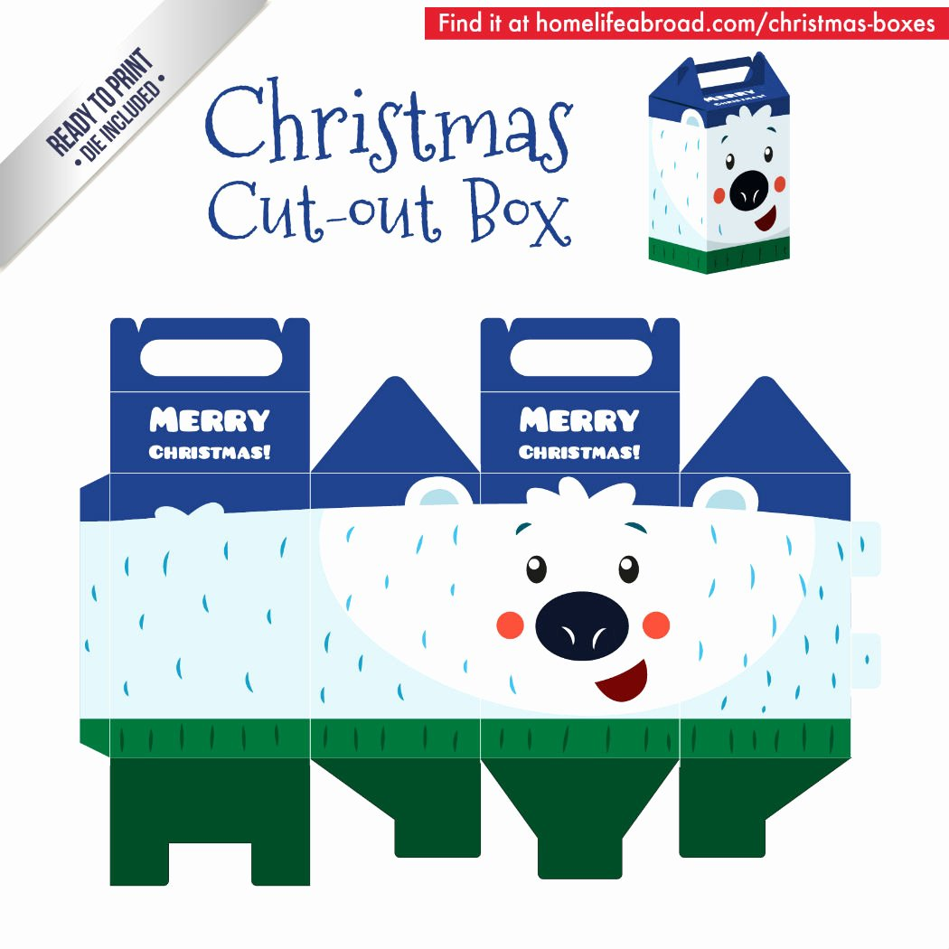 Cut Out Box Template Elegant Mega Collection Of 38 Cut Out Christmas Box Templates