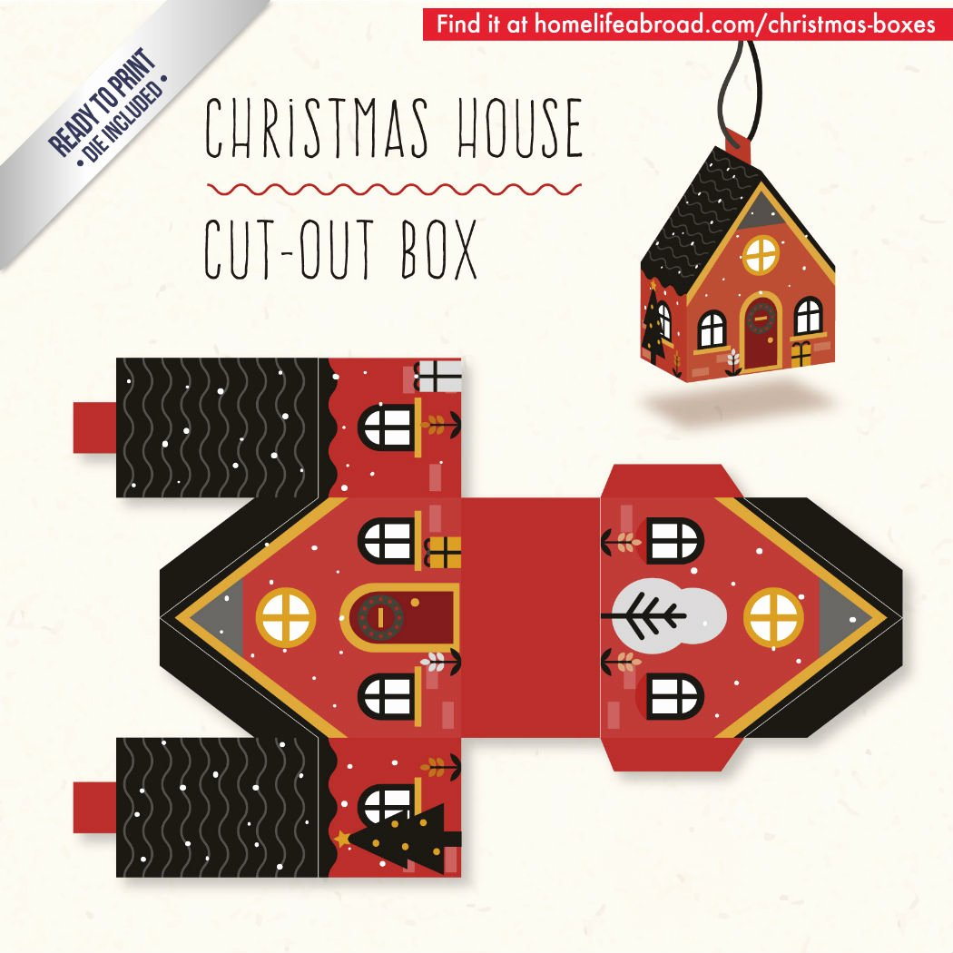 Cut Out Box Template Lovely Mega Collection Of 38 Cut Out Christmas Box Templates Part 3