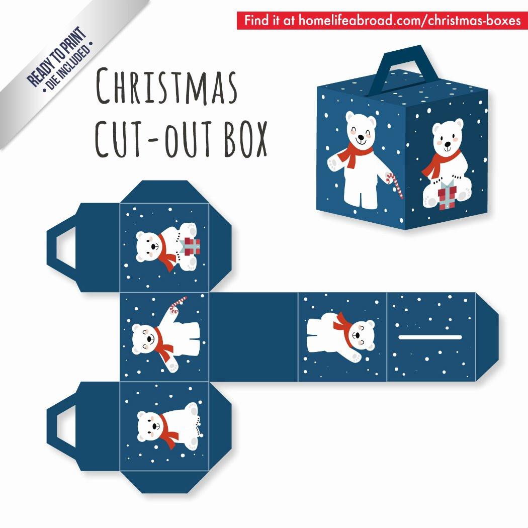 Cut Out Box Template Unique Mega Collection Of 38 Cut Out Christmas Box Templates Part 2