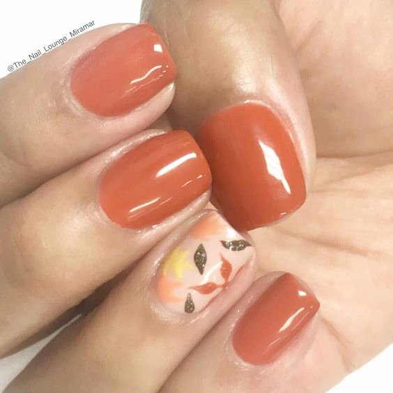 Cute Easy Fall Nail Designs Beautiful 54 Autumn Fall Nail Colors Ideas You Will Love Koees Blog