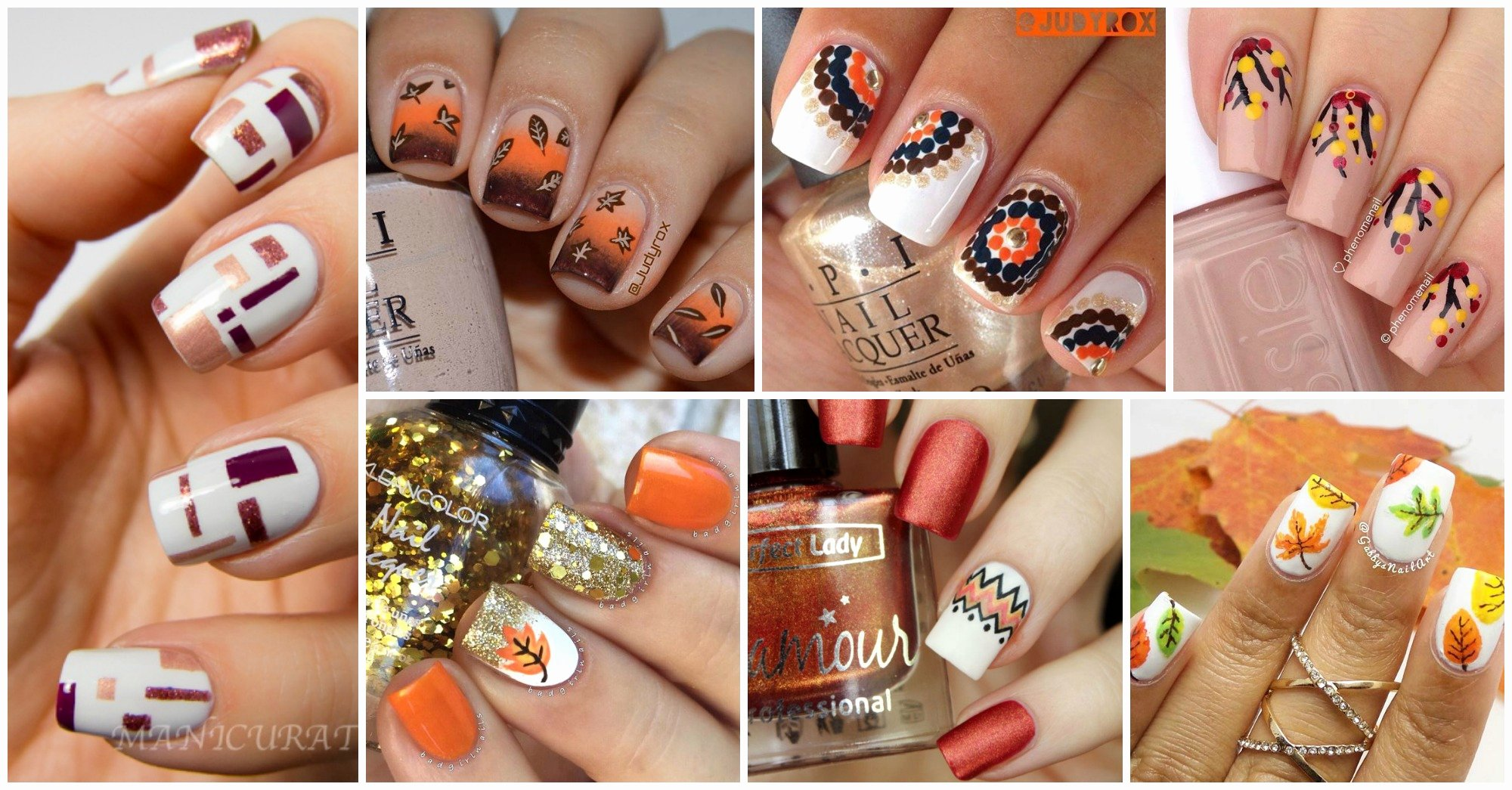 Cute Easy Fall Nail Designs Elegant 15 Cute Nail Designs to Try This Fall