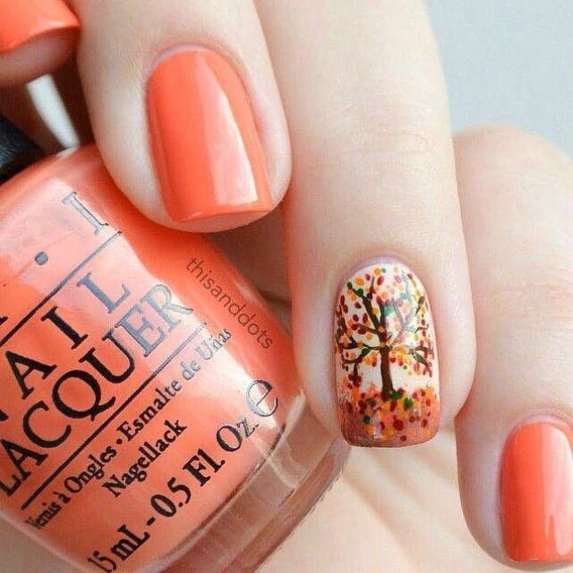 Cute Easy Fall Nail Designs Elegant 15 Thanksgiving Nail Art Designs You Can Wear All Fall