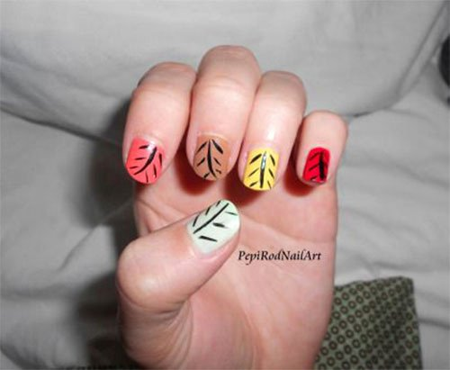 Cute Easy Fall Nail Designs Fresh 15 Cute & Easy Fall Autumn Nail Art Designs & Ideas