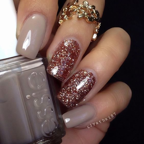 Cute Easy Fall Nail Designs Inspirational Cute Bronze Fall Nail Art – Watch Out La S