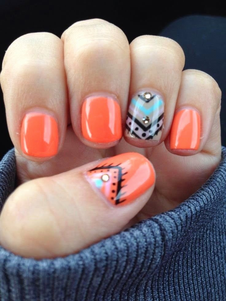 Cute Easy Fall Nail Designs Lovely 33 Earthy and Stylish Fall Nail Art Ideas
