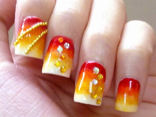 Cute Easy Fall Nail Designs Lovely 50 Most Beautiful Autumn Nail Art Designs