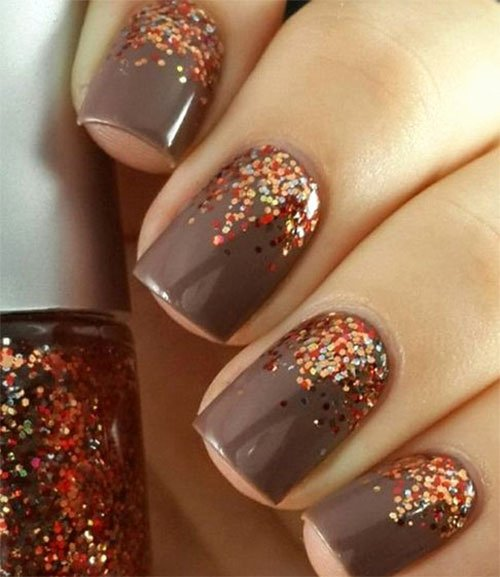 Cute Easy Fall Nail Designs New 15 Easy Fall Autumn Nails Art Designs & Ideas 2017