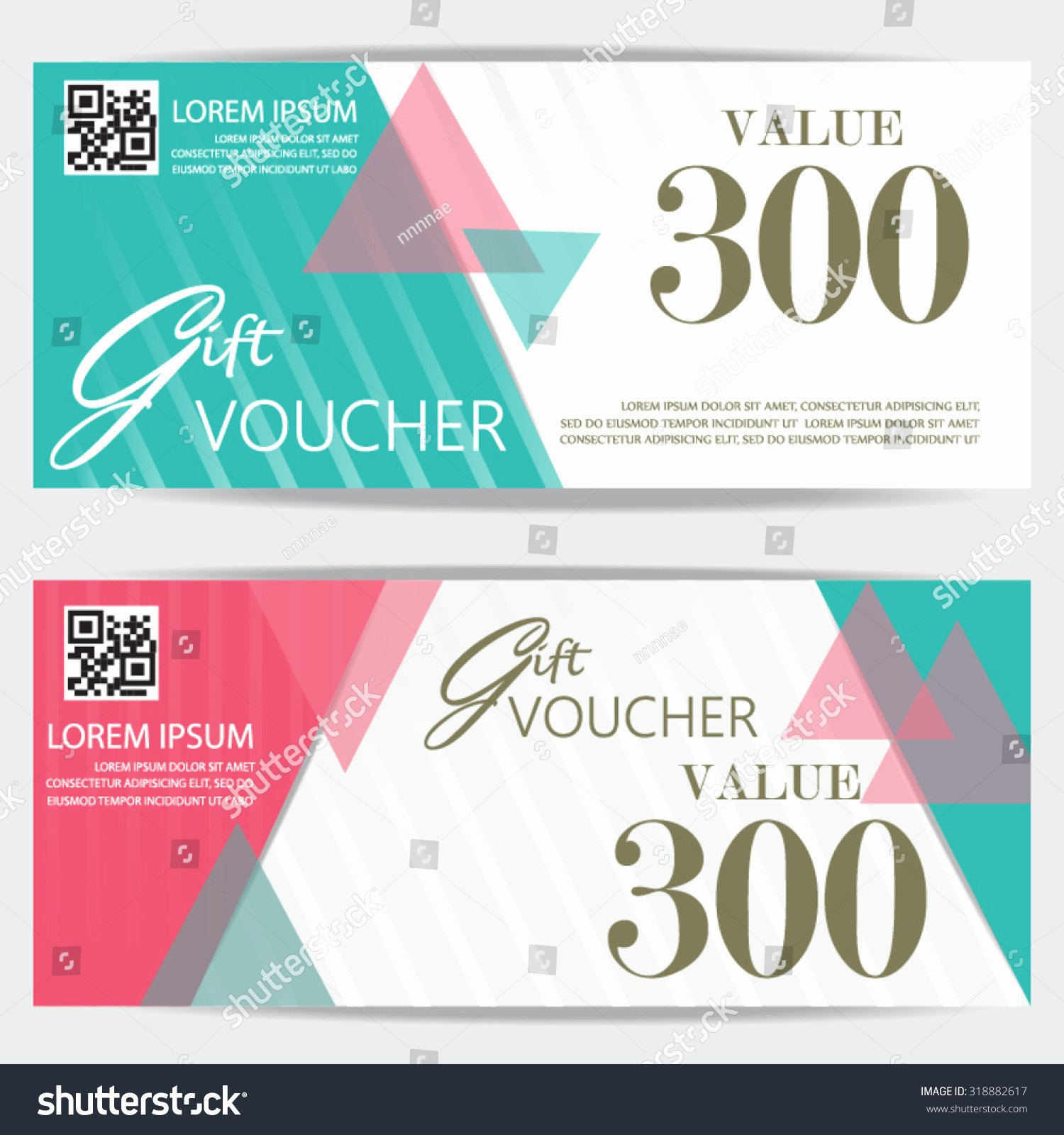 Cute Gift Certificate Template Luxury Gift Voucher Certificate Coupon Template Cute and Modern
