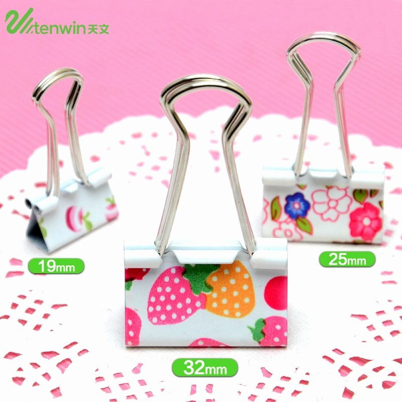 Cute Paper Clip Holder Awesome 12 Pcs Lot 32mm Cute Strawberry Paper Clips Binder Memo