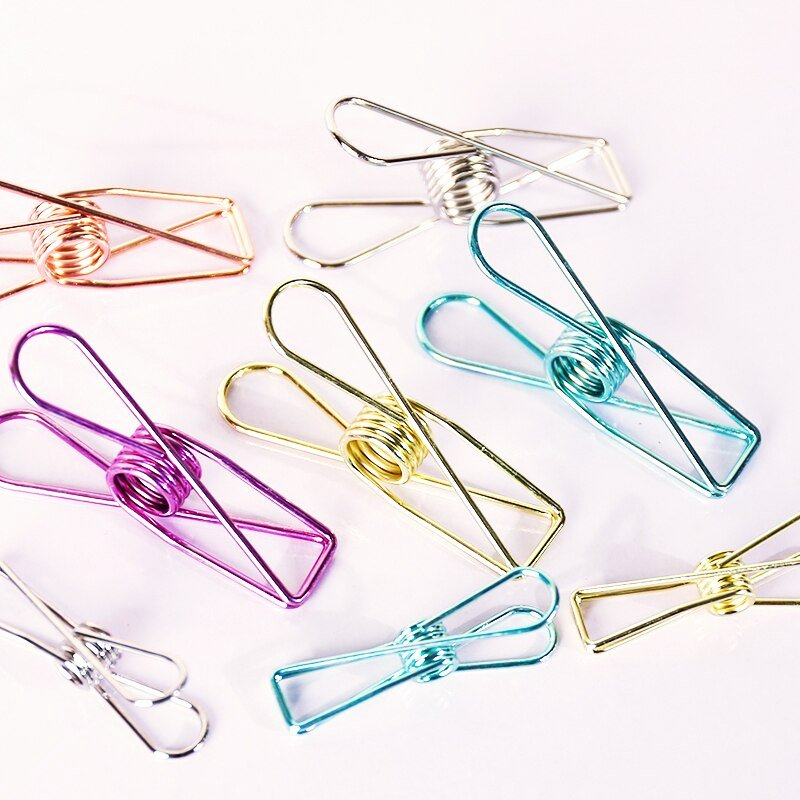 Cute Paper Clip Holder Best Of 1pc Cute Stationery Creative Vintage Binder Clips Hollow