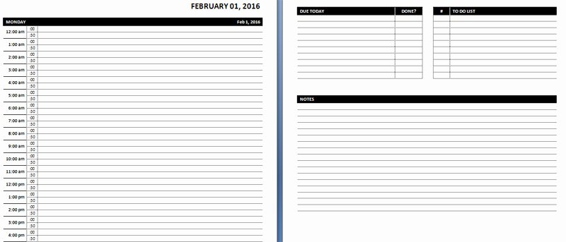 Daily Planner Template Word Best Of Line Planner Template – Planner Template Free