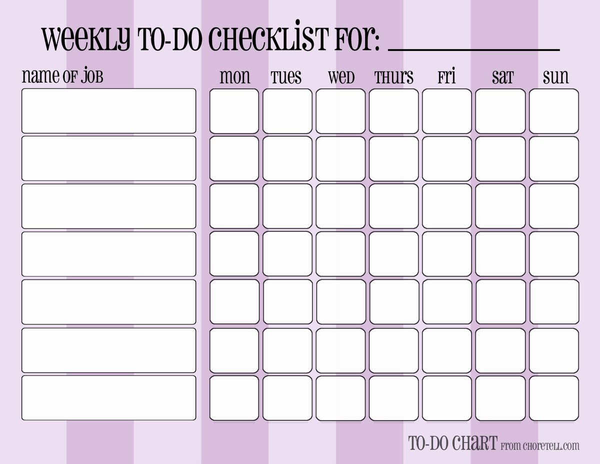 Daily Weekly Chore Chart Luxury How to Build Your Perfect Planner System Week 21 Make