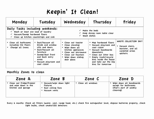Daily Weekly Chore Chart Luxury Sings Clean Up Clean Up Everybody Clean Up
