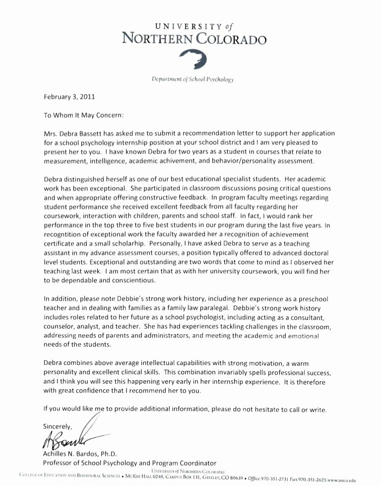 Daycare Letter Of Recommendation Lovely Reference Letters