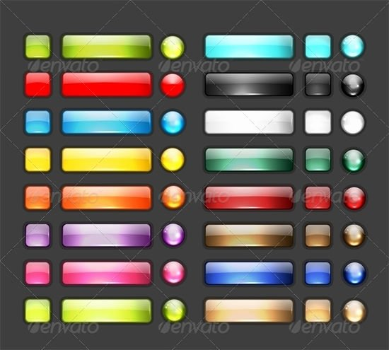 Design A button Kit Awesome 59 Ui button Designs Elements & Kits Collection Free