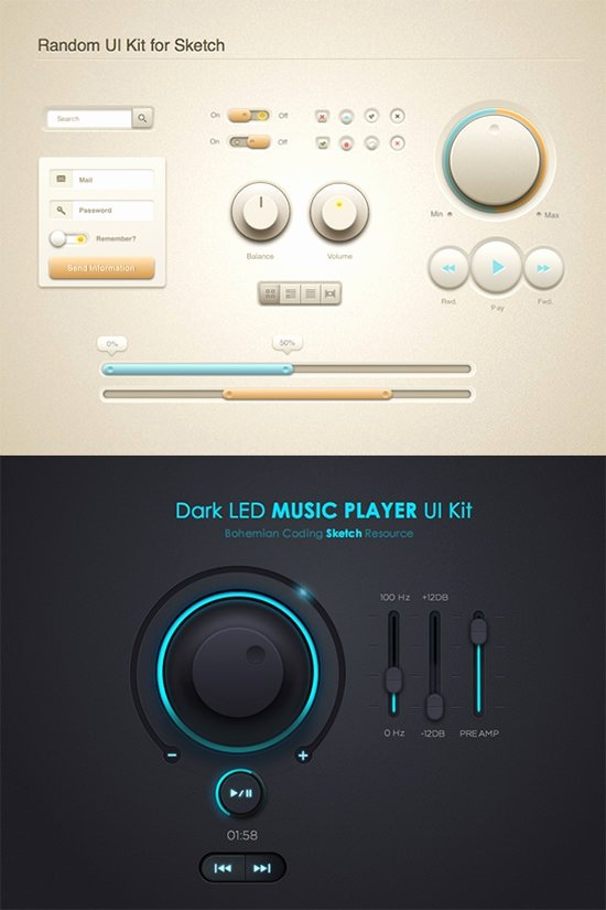 Design A button Kit Lovely 59 Ui button Designs Elements & Kits Collection Free