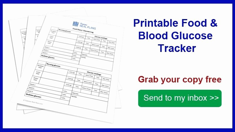 Diabetes Tracking Chart Printable Beautiful Food and Blood Glucose Tracker [printable]