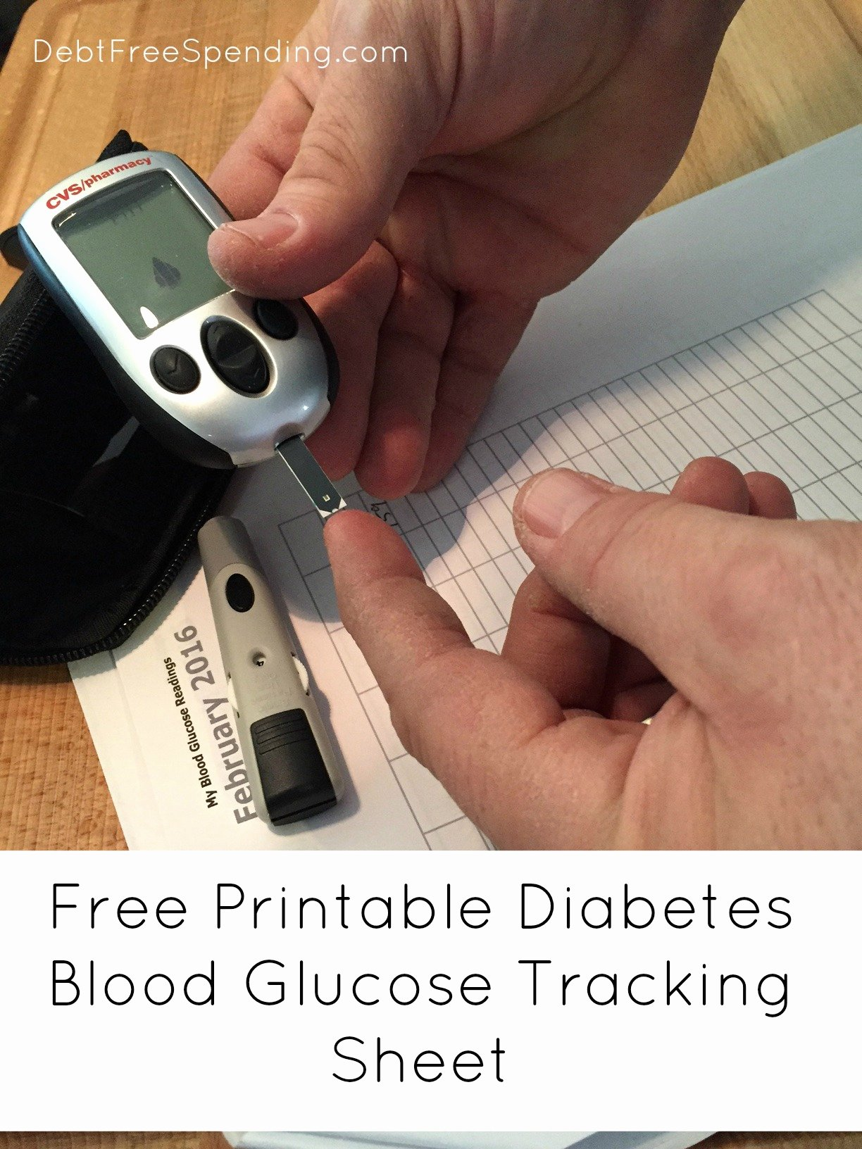 Diabetes Tracking Chart Printable New Blood Glucose Tracking for Diabetes Free Printable Debt