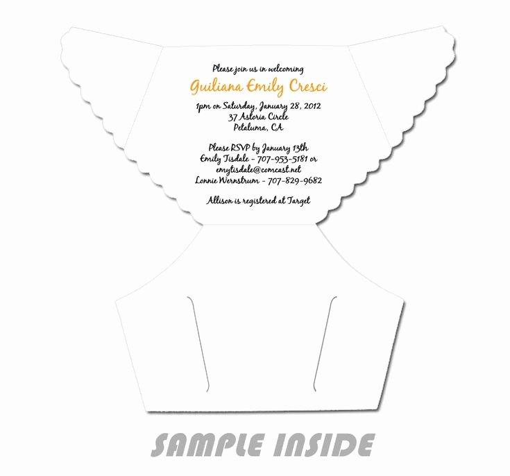 Diaper Invitation Template Free Lovely Best 25 Diaper Invitation Template Ideas On Pinterest