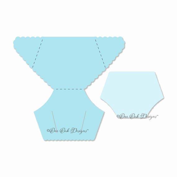 Diaper Invitation Template Free Unique Diaper Card Template Svg File Pdf Dxf Png Eps Ai
