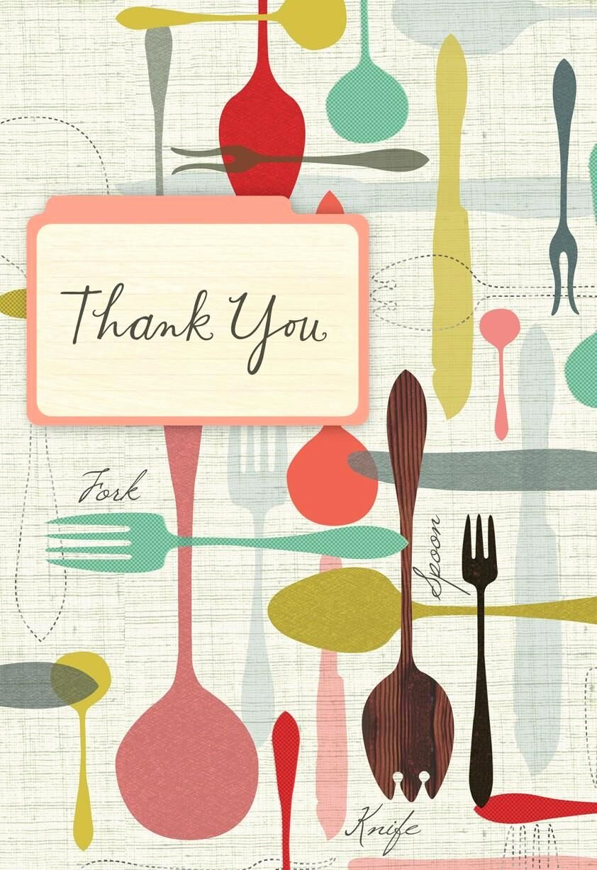 Dinner Party Thank You Notes Beautiful Thank You Notes Cards & Gifts