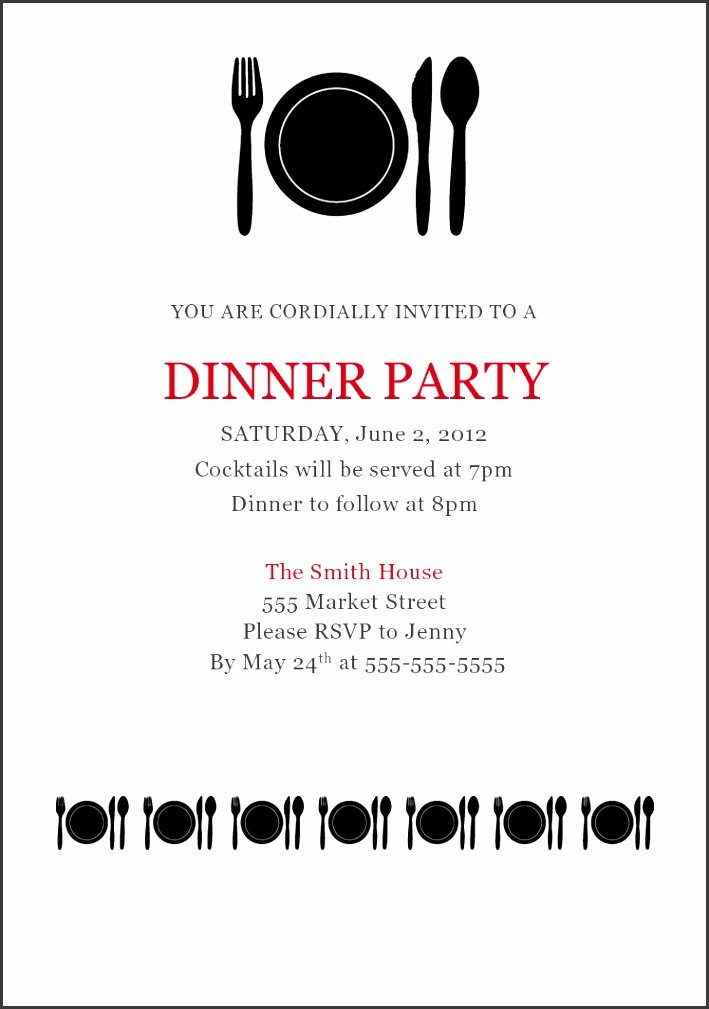 Dinner Party Thank You Notes Inspirational 5 formal Dinner Invitation Letter Sampletemplatess