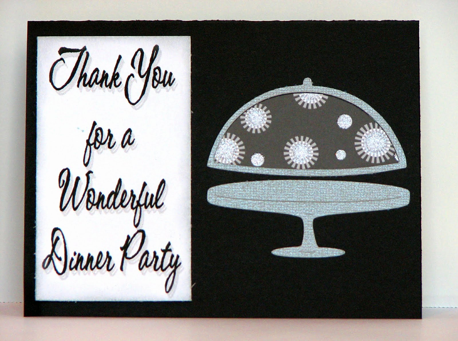 Dinner Party Thank You Notes Lovely the Cricut Obsession Dinner Party Thank You