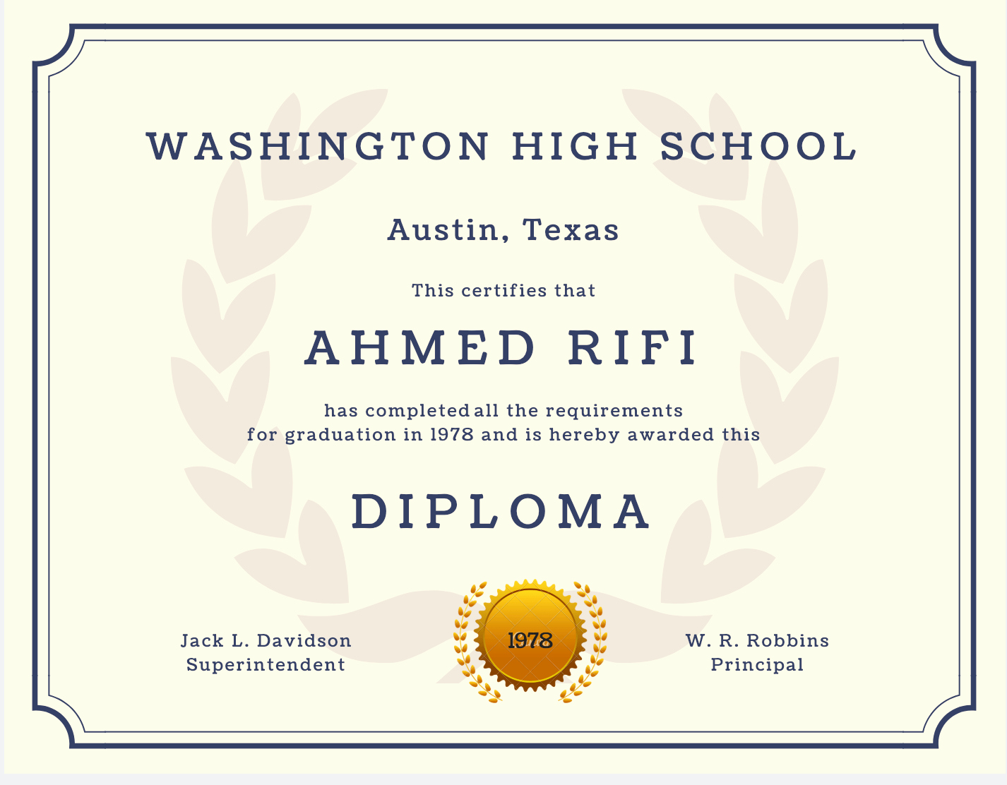 Diploma Templates Free Printable Awesome 60 Free High School Diploma Template Printable