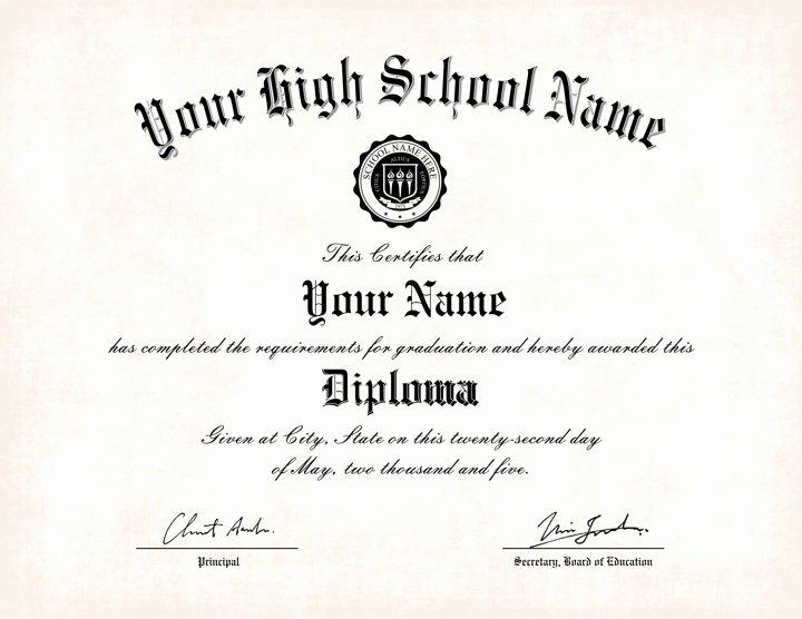 Diploma Templates Free Printable Fresh Free Printable High School Diploma Templates