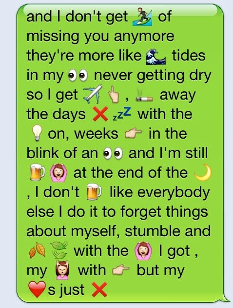 Dirty Emoji Text Combinations Lovely iPhone Dirty Boyfriend Quotes Quotesgram