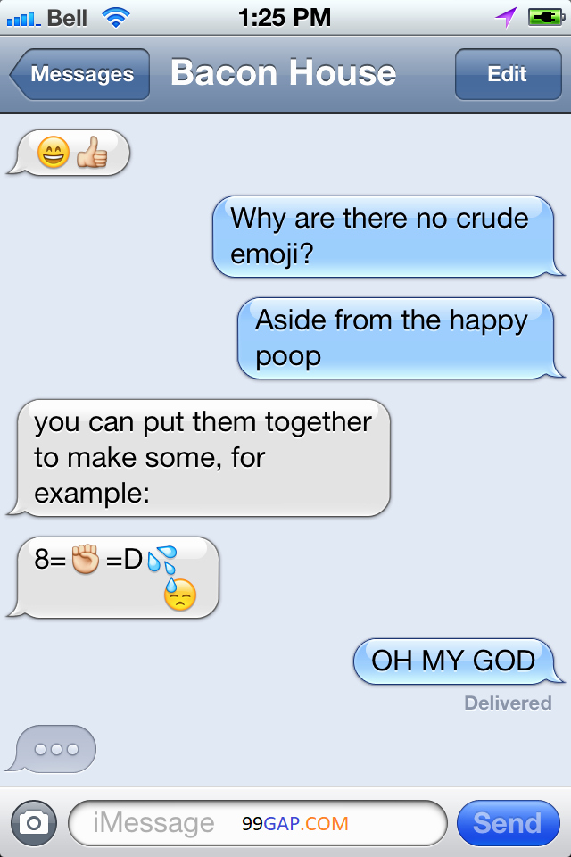 Dirty Emoji Text Combinations Unique Hilarious Emoji Conversation Random