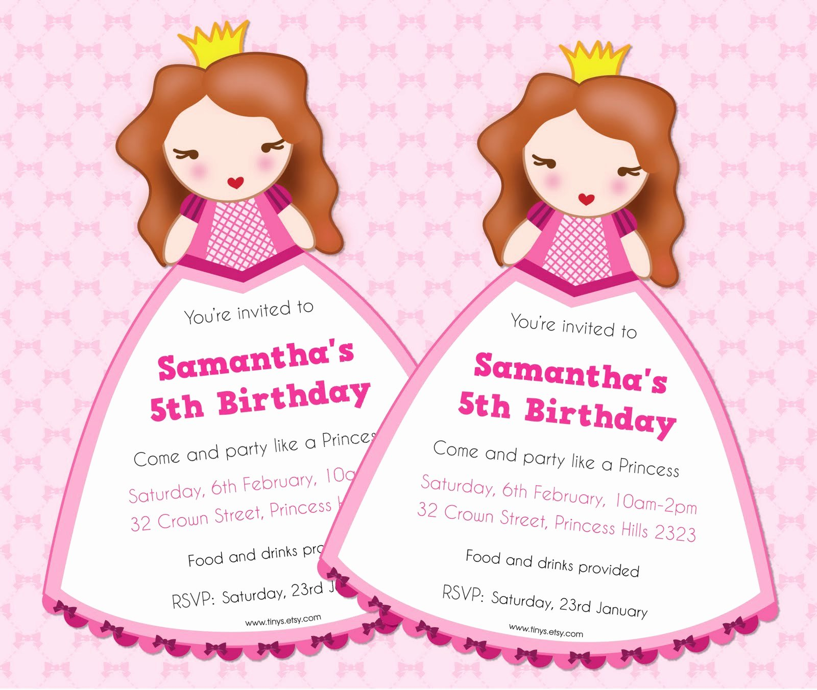 Disney Princess Invitation Templates Free Inspirational Tinysandtea Free Princess Invite Editable Text