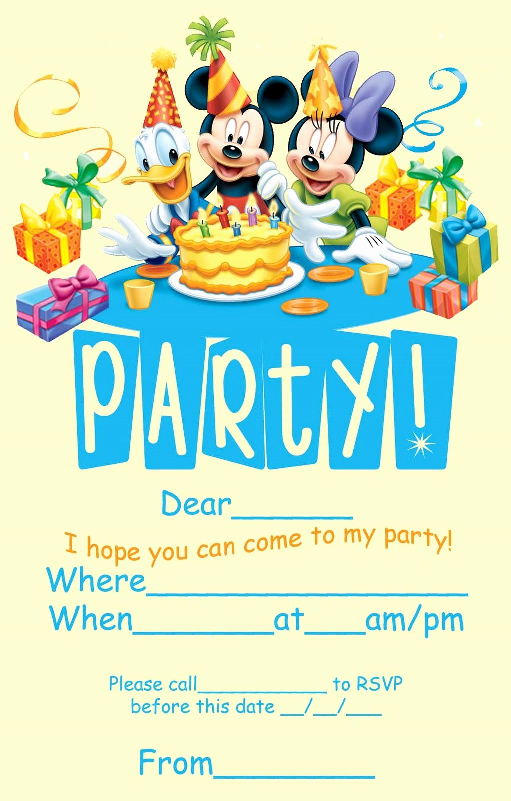 Disney Printable Birthday Cards Fresh Ideas for A Perfect Disney Fairy Tale themed Birthday
