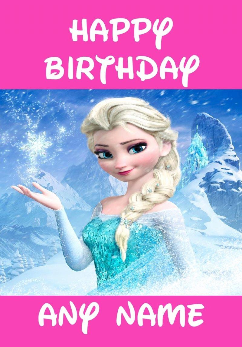 post disney frozen printable birthday cards
