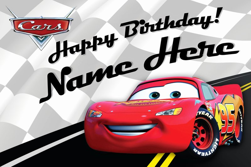 Disney Printable Birthday Cards Lovely Free Custom Disney Birthday Card Lightning Mcqueen