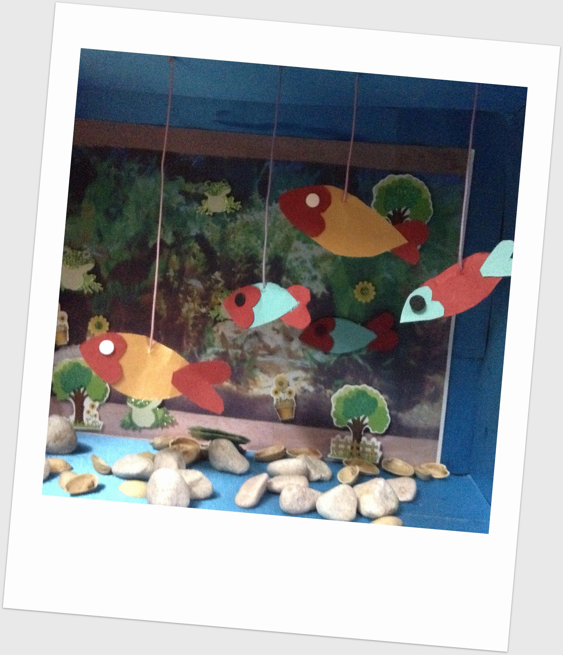 Diy Aquarium Background Paper Beautiful Step by Step Procedure to Make A Paper Aquarium