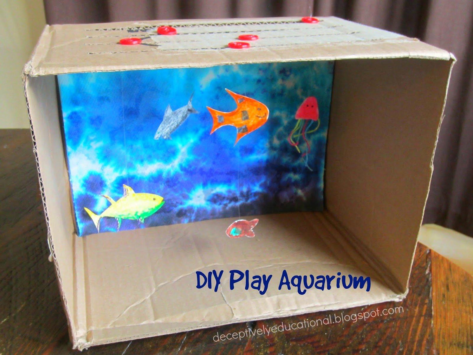 Diy Aquarium Background Paper Best Of Relentlessly Fun Deceptively Educational Diy Play Aquarium