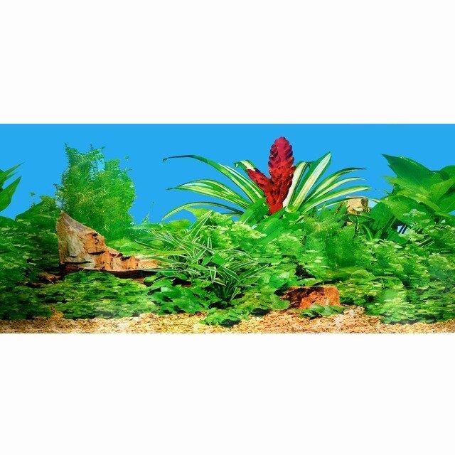 Diy Aquarium Background Paper Elegant 2017 Double Sided Pvc Aquarium Background Poster