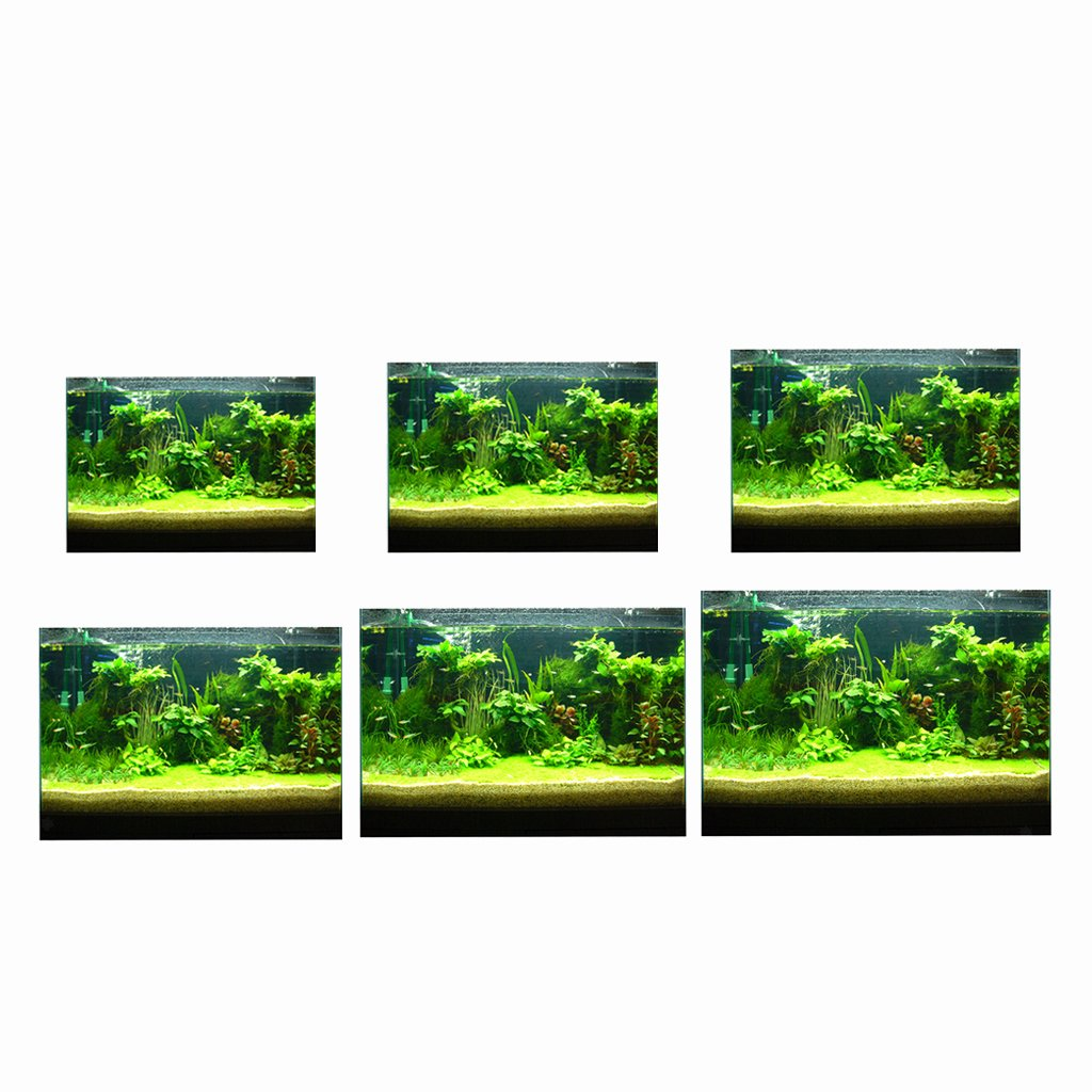 Diy Aquarium Background Paper Luxury 3d High Definition Background Paper Wallpaper Decor for