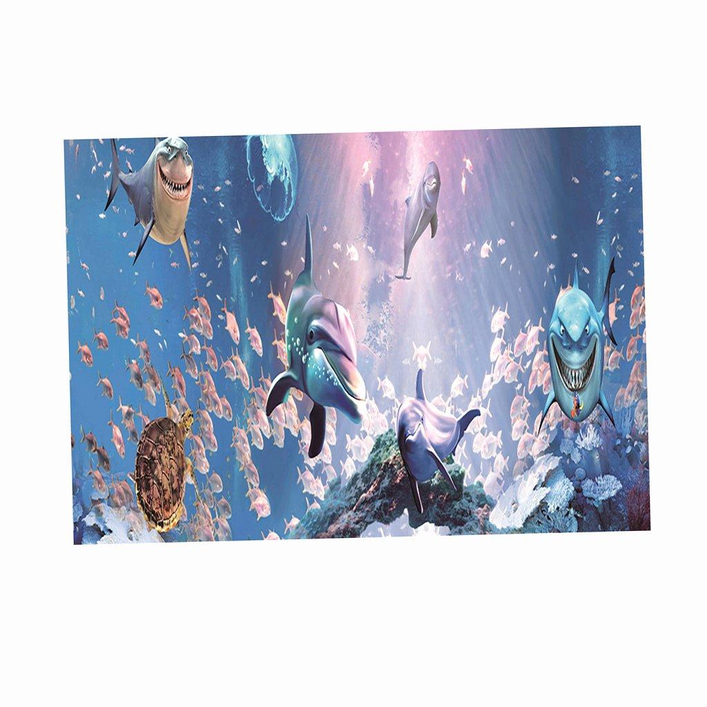 Diy Aquarium Background Paper Unique 3d High Definition Background Paper Wallpaper Decor for