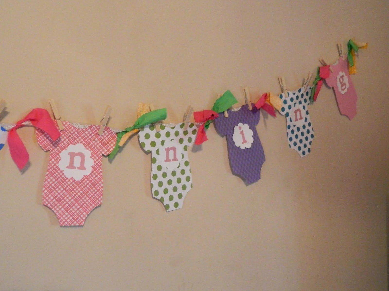 Diy Baby Shower Banner Template Unique Always Homemade Baby Shower Banner
