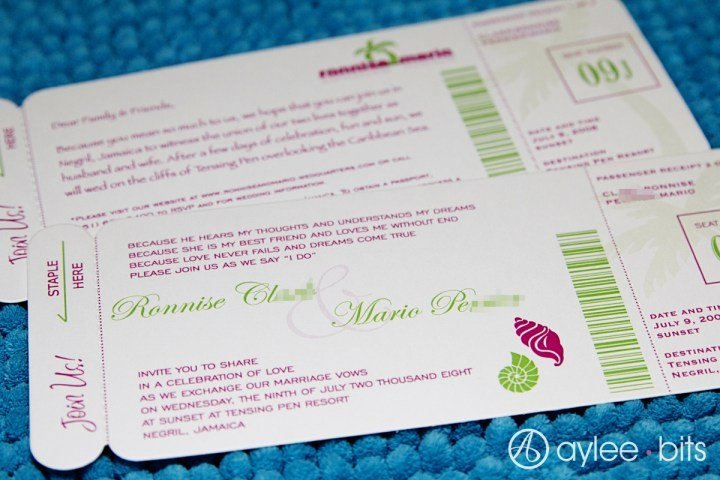 Diy Boarding Pass Invitations Best Of Diy Boarding Pass Invitation Save the Date
