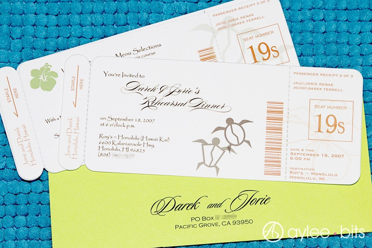 Diy Boarding Pass Invitations Elegant Diy Boarding Pass Invitation Save the Date
