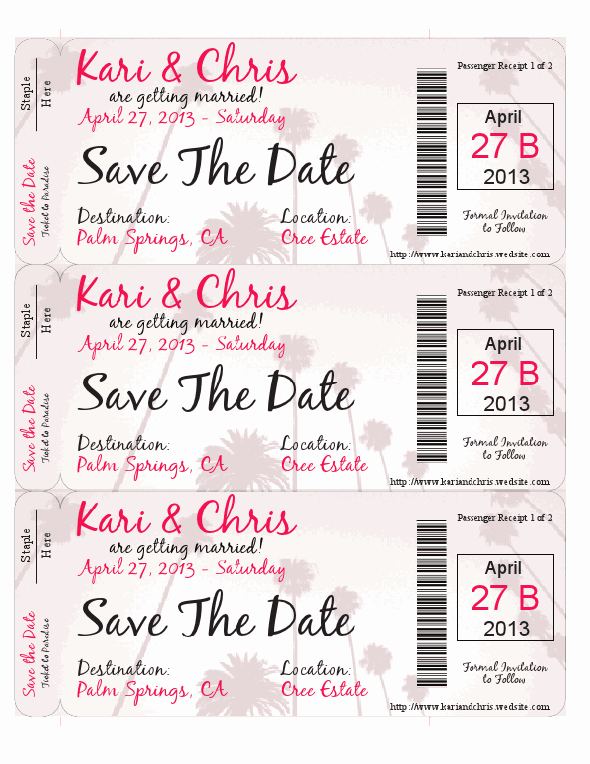 Diy Boarding Pass Invitations Elegant Save the Date Boarding Pass theme Wedding Diy